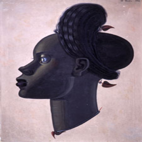 Retrato de muller negra. Maruja Mallo
