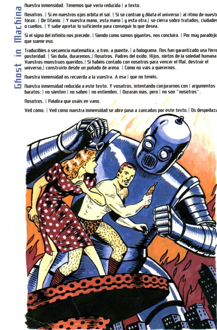 sci-poesía El Gaviero