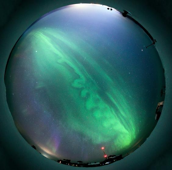 Aurora All sky