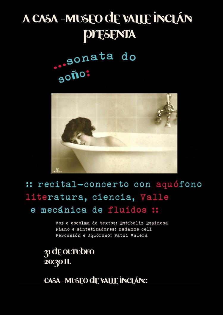 modelo cartaz Sonata do soño 1