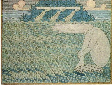Maidens at the Ends of Capes, Aino-motif from the Kalevala 1919-20